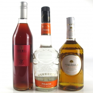 Miscellaneous Fruit Liqueur Selection 3 x 70cl