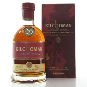 Kilchoman 2012 Red Wine Cask Matured