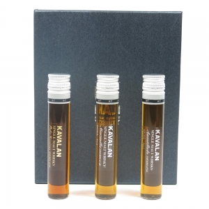 Kavalan Test Tube Gift Pack 3 x 5cl