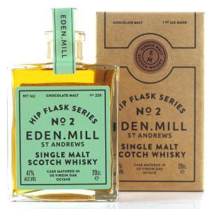 Eden Mill Single Malt Hip Flask Series No.2 20cl / Chocolate Malt
