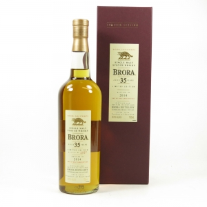 Brora 35 Year Old 2014 Release US Import 75cl