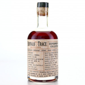 Buffalo Trace 1990 Experimental Collection 16 Year Old 37.5cl / Cabernet Franc Aged After 8 Years