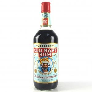 Wood's 100 Proof Old Navy Rum 1970s