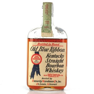 Old Blue Ribbon 1917 Bottled in Bond 12 Year Old / Prohibition Era Bottling