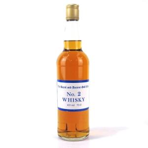 Royal and Ancient Golf Club No.2 Whisky