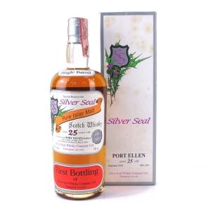 Port Ellen 1975 Silver Seal 25 Year Old / First Bottling