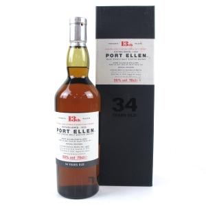 Port Ellen 1978 34 Year Old 13th Release
