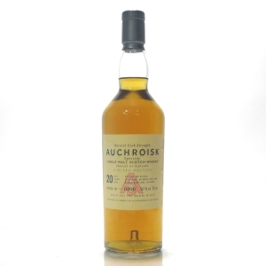 Auchroisk 20 Year Old Cask Strength / 2010 Release