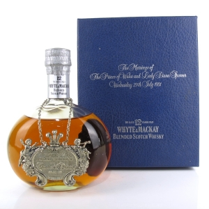 Whyte and Mackay 12 Year Old Royal Wedding 1981