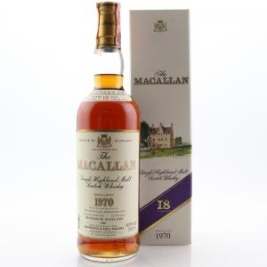 Macallan 1970 18 Year Old / Giovinetti Import