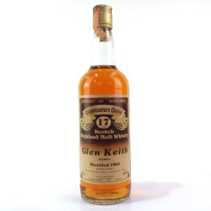 Glen Keith 1963 Gordon and MacPhail 17 Year Old / Pinerolo Import