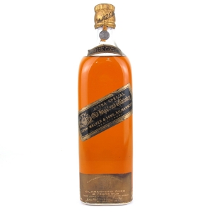 Johnnie Walker Black Label 12 Year Old 1930s