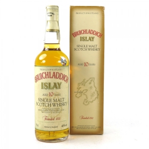 Bruichladdich 10 Year Old 1990s