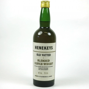 Henekey's Old Vatted 1970s