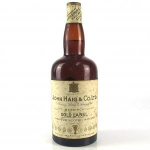 Haig Gold Label post-1936