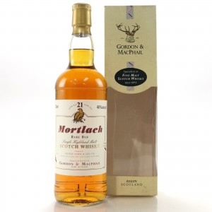 Mortlach 21 Year Old Gordon and MacPhail 75cl / US Import