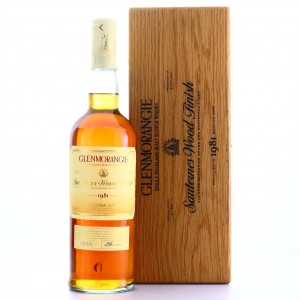 Glenmorangie 1981 Sauternes Wood Finish