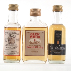 Closed Distillery Gordon and MacPhail Miniatures 3 x 5cl
