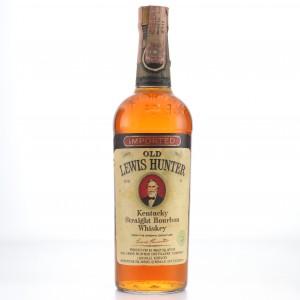 Old Lewis Hunter Bourbon 1970s