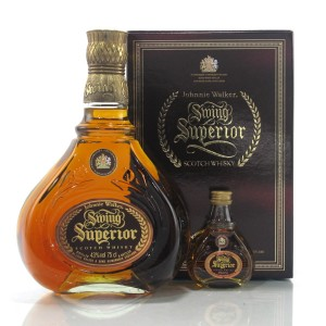 Johnnie Walker Swing Superior 75cl / Including 5cl