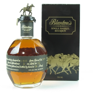 Blanton's Single Barrel Black 2017 / Japanese Import