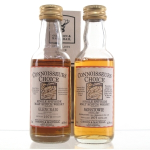 Decommissioned Still Gordon and MacPhail Miniatures 2 x 5cl