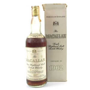 Macallan 1962 Campbell, Hope and King