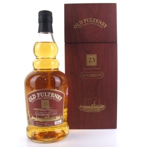 Old Pulteney 23 Year Old Bourbon Cask