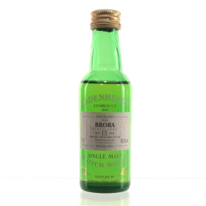Brora 1982 Cadenhead's 13 Year Old Miniature 5cl