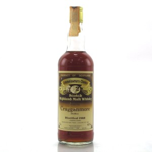 Cragganmore 1968 Gordon MacPhail 12 Year Old / Pinerolo Import