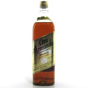 Don Armando Dominican Republic Rum 1970s