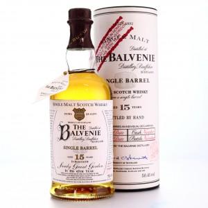 Balvenie 15 Year Old Single Barrel / Sandy Grant Gordon 65th Birthday