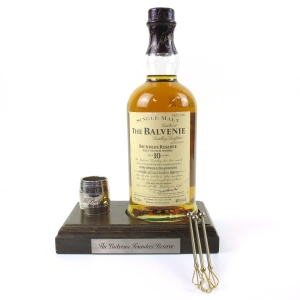 Balvenie 10 Year Old Founder's Reserve / Including Plinth