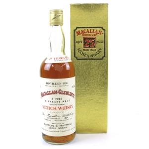Macallan 1950 Gordon and MacPhail / Pinerolo Import