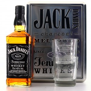 Jack Daniel's Old No.7 Gift Set / includes 2 x Glasses