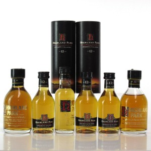 Highland Park 12 Year Old Miniatures x 6