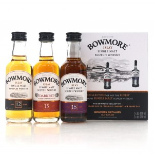 Bowmore Collection 3 x 5cl / 12, 15, 18 Year Old