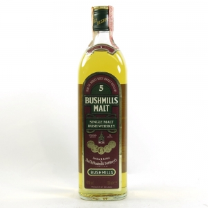 Bushmills 5 Year Old