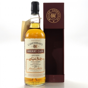Mortlach 1988 Cadenhead's 25 Year Old / Sherry Cask