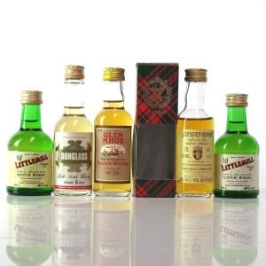 Closed Distillery Miniature Selection / 5 x 5cl