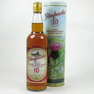 Glenfarclas 10 Year Old 1990s / A Force of Nature Tin