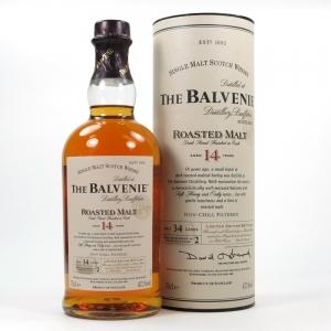 Balvenie 14 Year Old Roasted Malt Front
