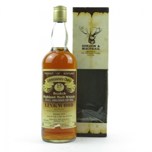 Linkwood 1974 Gordon and MacPhail 15 Year Old 75cl / US Import