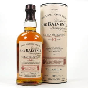 Balvenie 14 Year Old Cuban Selection Front