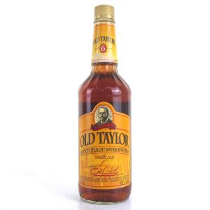 Old Taylor 6 Year Old Kentucky Straight Bourbon 1990s