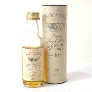 Bowmore 10 Year Old Miniature 5cl / Glasgow Garden Festival 1988