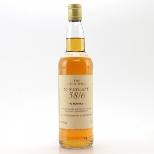Syndicate 12 Year Old 58/6 Scotch Whisky