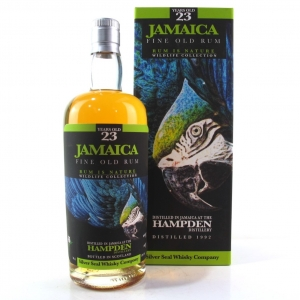 Hampden 1992 Silver Seal 23 Year Old Jamaican Rum