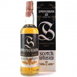 Springbank 12 Year Old 100 Proof / Mislabelled