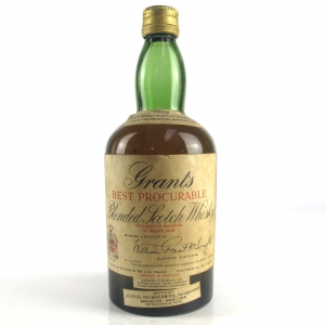 Grant's 12 Year Old Best Procurable 1940s / US Import